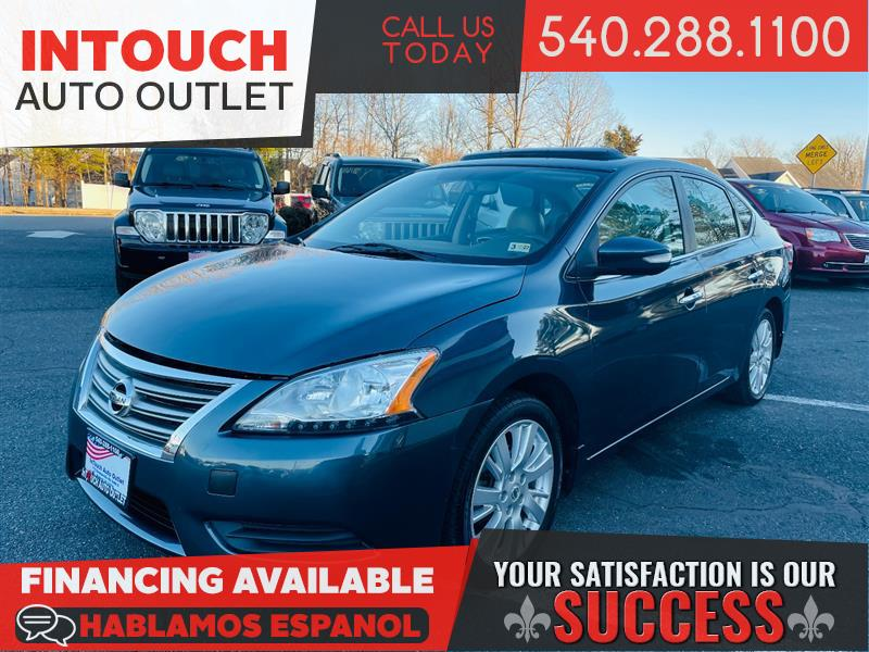 2014 NISSAN SENTRA SL WITH NAVIGATION & PREMIUM PACKAGE