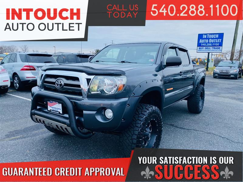 2010 TOYOTA TACOMA SR5 4WD WITH TRD PACKAGE