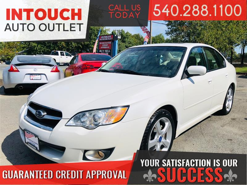 2008 SUBARU LEGACY SEDAN LIMITED AWD