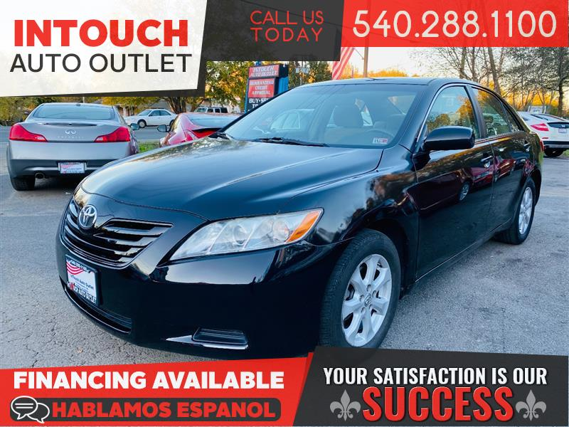 2009 TOYOTA CAMRY LE WITH SUNROOF