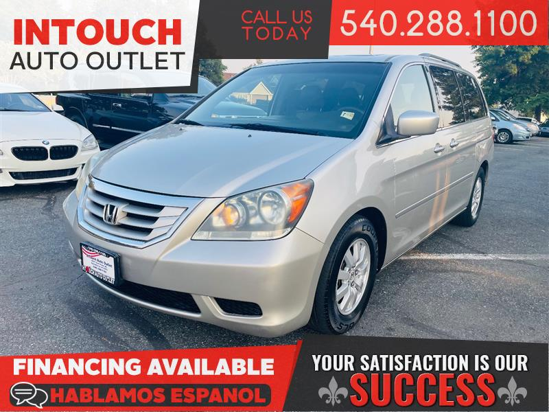 2008 HONDA ODYSSEY EX-L w/RES WITH SUNROOD AND DVDs