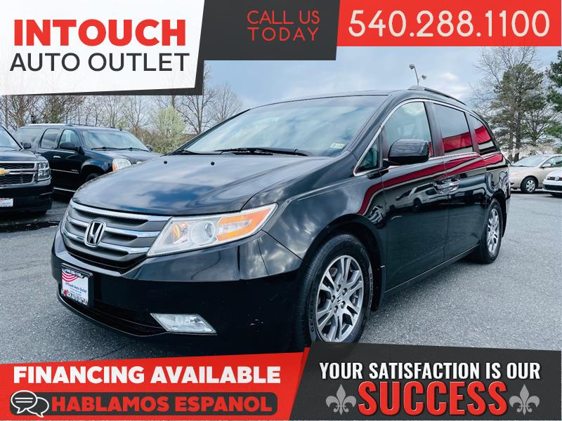 2012 HONDA ODYSSEY EX-L WITH SUNROOF ONE PREVIOUS OWNER