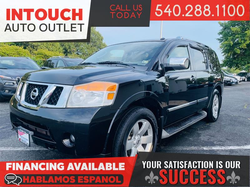 2011 NISSAN ARMADA SL 4WD WITH DVDs AND MOONROOF