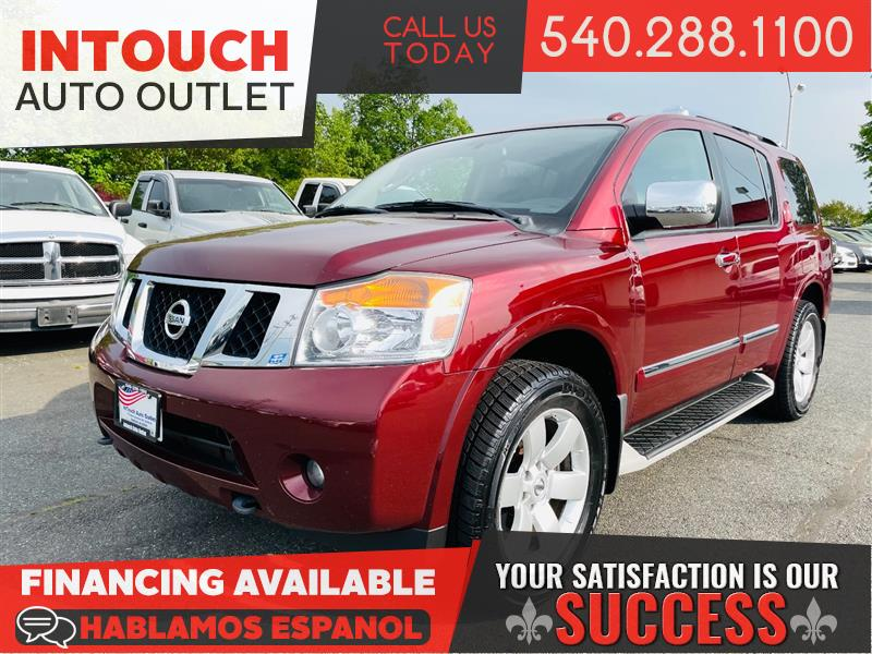 2012 NISSAN ARMADA SL 4WD WITH DVDs AND MOONROOF
