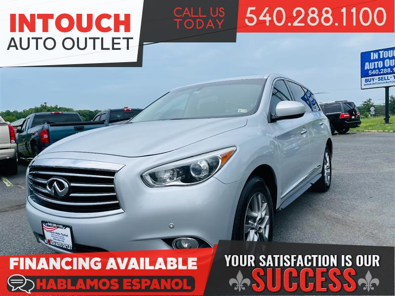 2013 INFINITI JX35 AWD WITH PREMIUM CARGO AND MAPLE ACCENT PACKAGE