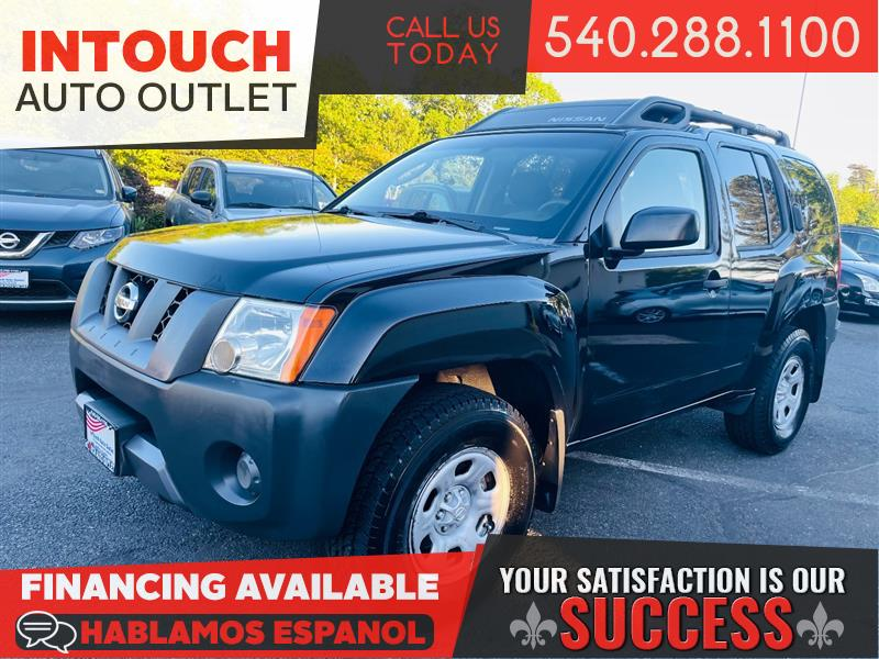 2007 NISSAN XTERRA 4WD WITH POWER PACKAGE CLEAN HISTORY