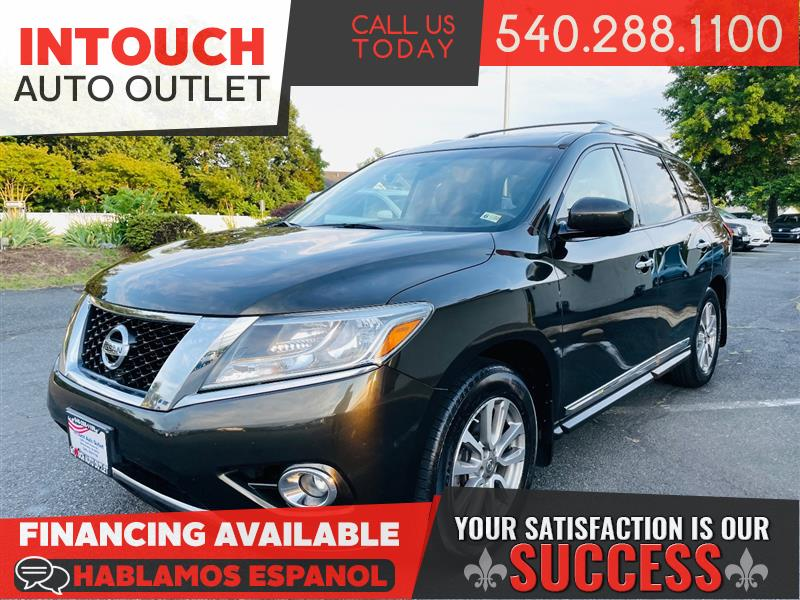 2015 NISSAN PATHFINDER SL 4WD w/PREMIUM AND CARGO PACKAGE MOONROOF