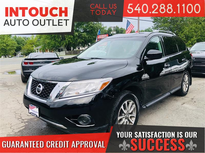 2013 NISSAN PATHFINDER SV 4WD WITH 3RD ROW SEATING