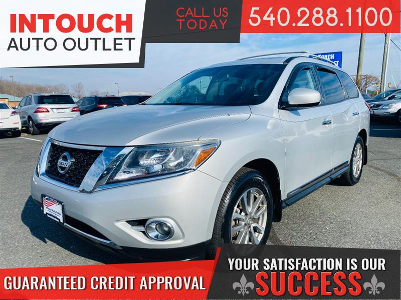 2013 NISSAN PATHFINDER SL 4WD WITH PREMIUM PACKAGE NAV PANORAMIC MOONROOF