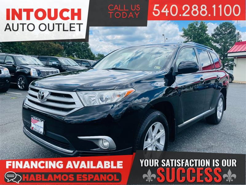 2011 TOYOTA HIGHLANDER SE 4WD WITH TECH AUDIO AND SUNROOF