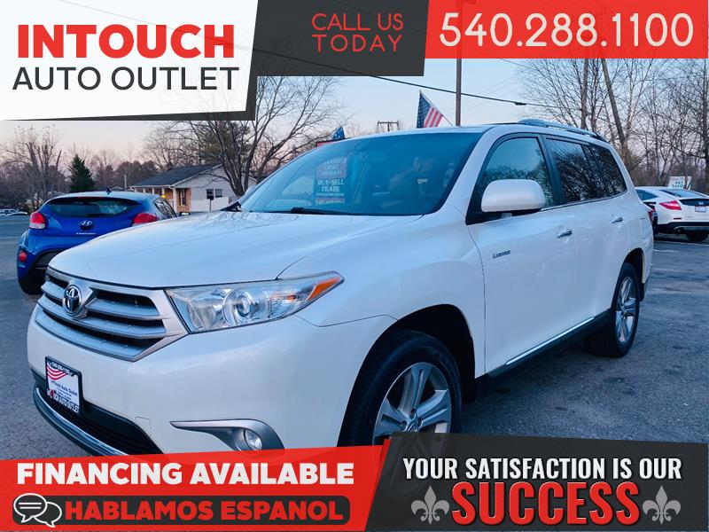 2013 TOYOTA HIGHLANDER LIMITED AWD WITH NAVIGATION