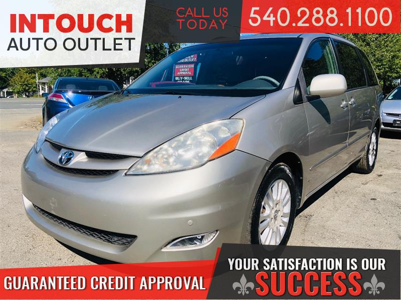 2009 TOYOTA SIENNA XLE LIMITED WITH NAV DVD'S BACK UP CAMERA
