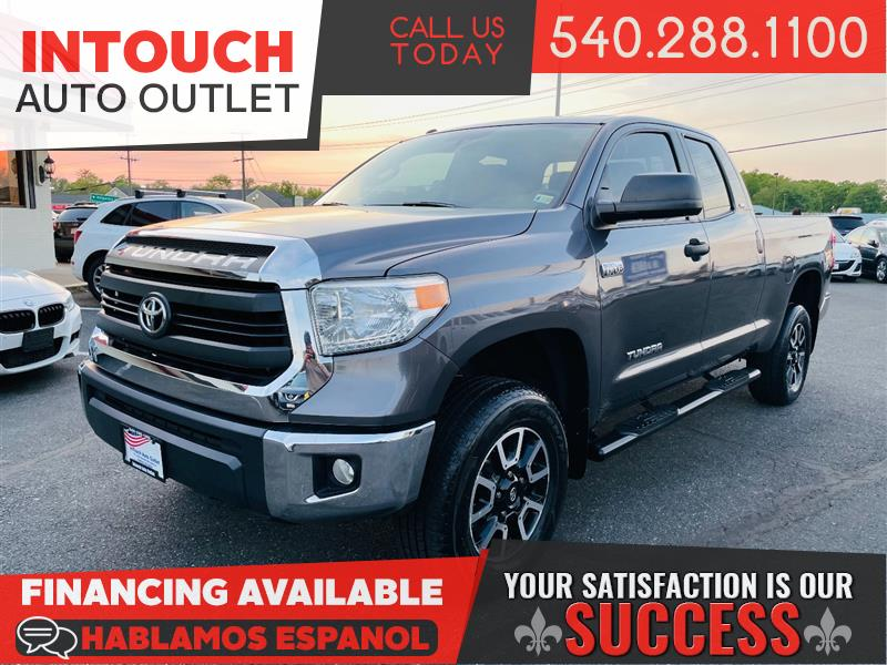 2014 TOYOTA TUNDRA 4WD WITH TRD OFF ROAD & SR5 UPGRADE PACKAGE