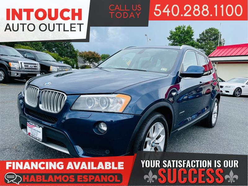 2011 BMW X3 AWD w/PREMIUM CONVENIENCE SPORT AND COLD WEATHER PACKAGE