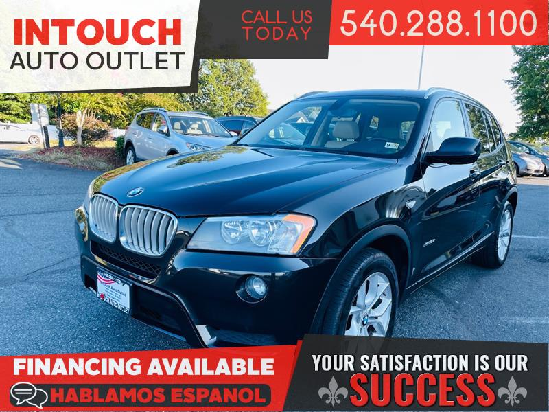 2013 BMW X3 AWD xDrive28i w/PREMIUM & COLD WEATHER PACKAGE NAVIGATION SYSTEM