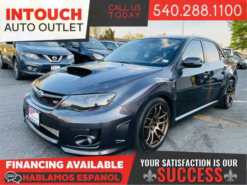 2013 SUBARU IMPREZA WRX STI SEDAN WITH SUNROOF AND CLIMATE PACKAGE