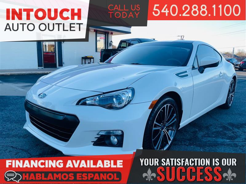 2013 SUBARU BRZ LIMITED WITH NAVIGATION SYSTEM 6 SPEED MANUAL