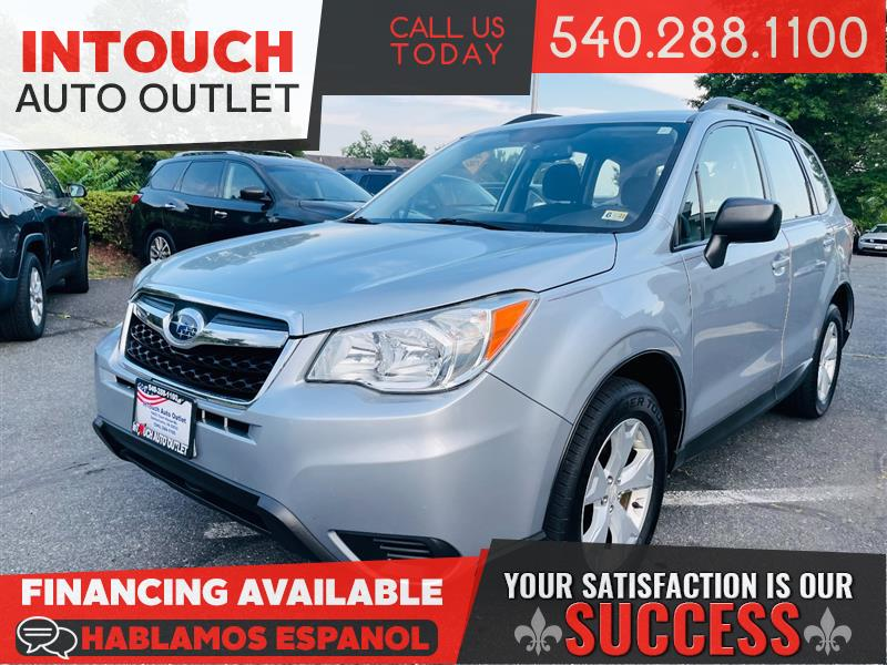 2015 SUBARU FORESTER AWD w/ POPULAR PACKAGE 1 AND ALLOY WHEEL PACKAGE