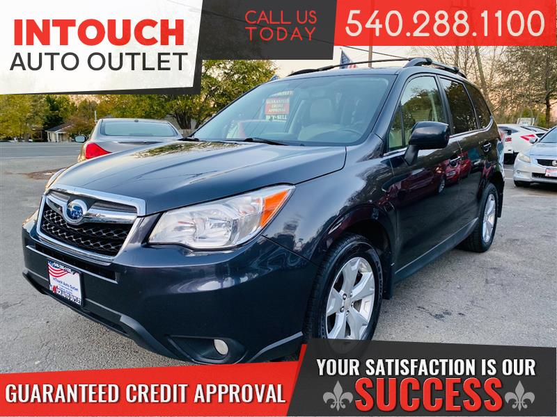 2014 SUBARU FORESTER LIMITED 4WD NAVIGATION PANORAMIC MOONROOF