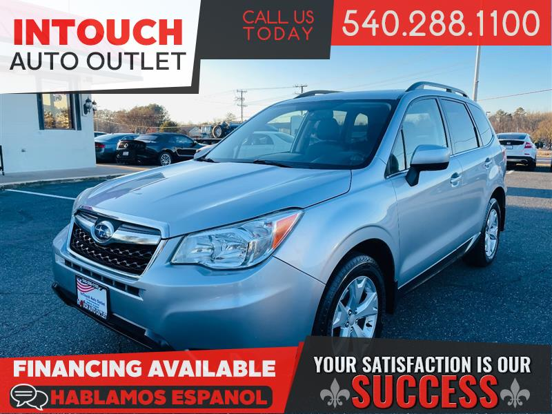 2014 SUBARU FORESTER LIMITED 4WD WITH NAVIGATION AND MOONROOF