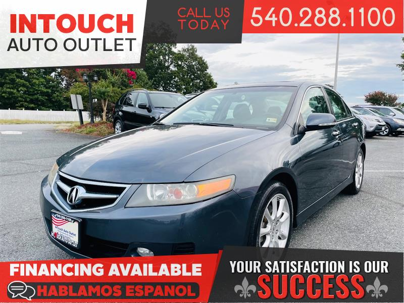 2007 ACURA TSX w/SUNROOF & ONE PREVIOUS OWNER