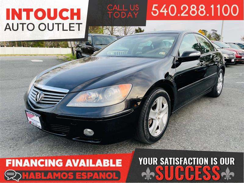 2008 ACURA RL WITH NAVIGATION SYSTEM & SUNROOF