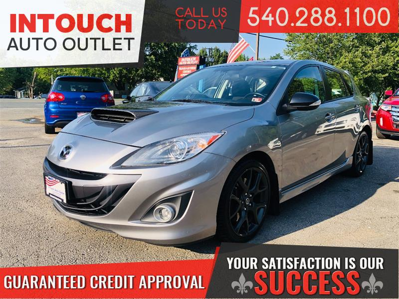 2013 MAZDA MAZDA3 MAZDASPEED3 TOURING WITH TECH PACKAGE