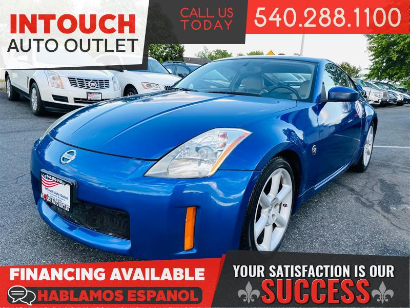 2005 NISSAN 350Z TOURING COUPE 6 SPEED MANUAL TRANSMISSION