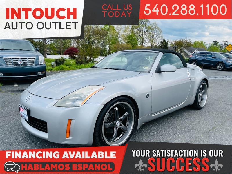 2004 NISSAN 350Z TOURING 6 SPEED MANUAL TRANSMISSION WITH NAVIGATION