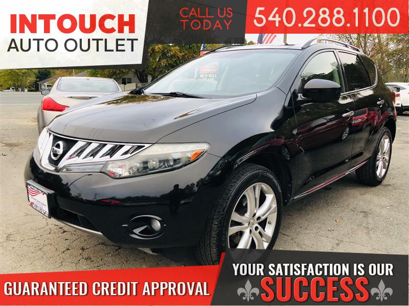 2009 NISSAN MURANO LE AWD WITH NAVIGATION PANORAMIC MOONROOF