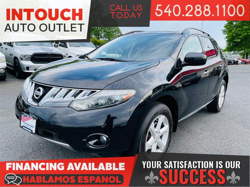 2009 NISSAN MURANO SL AWD w/ PREMIUM AND TECHNOLOGY PACKAGE MOONROOF