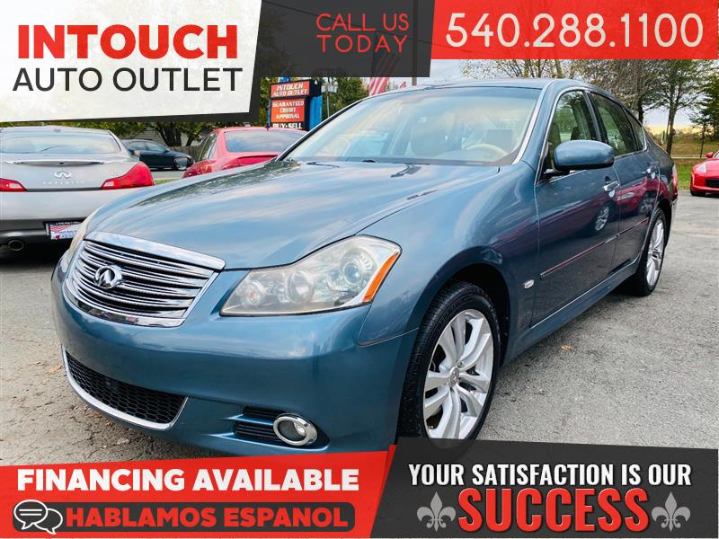 2008 INFINITI M35 WITH TECHNOLOGY AND PREMIUM PACKAGE