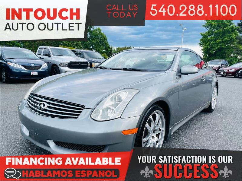 2007 INFINITI G35 COUPE w/PREMIUM AERO AND SPORT TUNED SUSPENSION PACKAGES