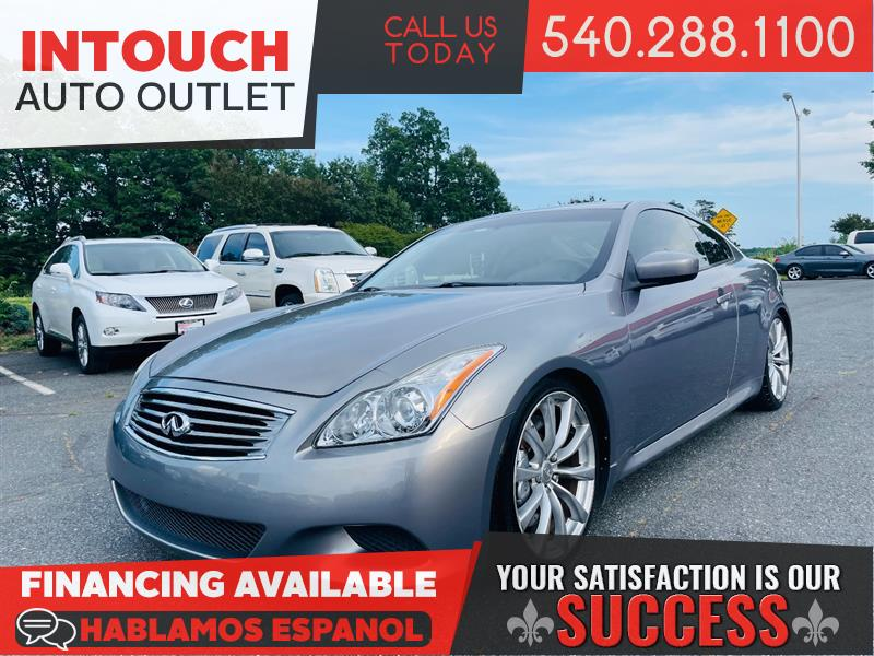 2008 INFINITI G37 COUPE w/PREMIUM SPORT AND NAVIGATION PACKAGE