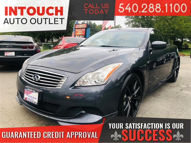 2008 INFINITI G37 COUPE SPORT WITH SUNROOF NAV