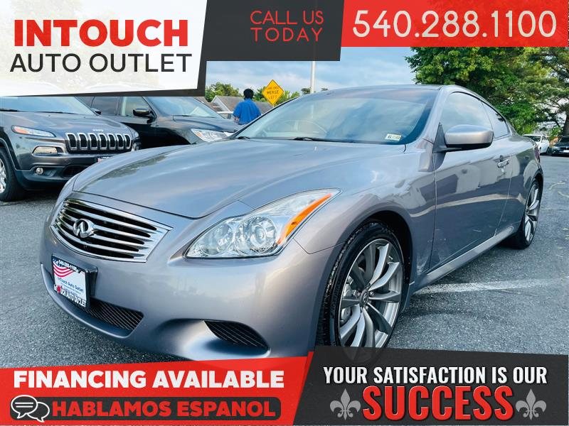 2008 INFINITI G37 COUPE SPORT w/PREMIUM AND NAVIGATION PACKAGE 6 SPEED MANUAL