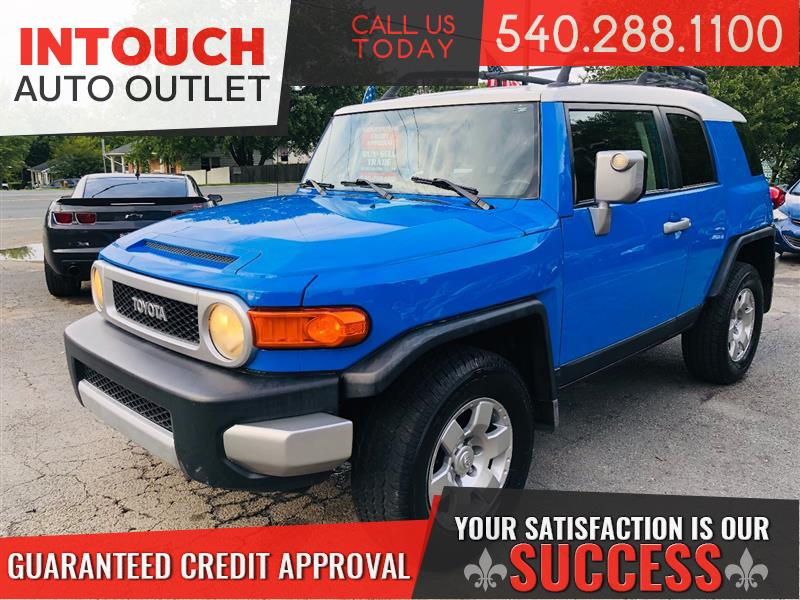 2007 TOYOTA FJ CRUISER 4WD ONE OWNER WITH CONVENIENCE PACKAGE
