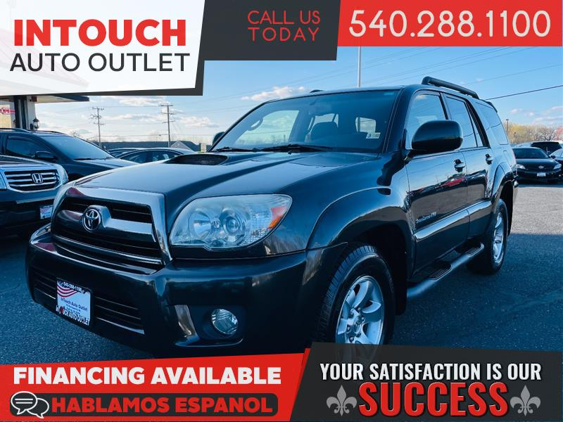 2008 TOYOTA 4RUNNER SPORT EDITION 4WD WITH SPORT EXTRA VALUE PACKAGE