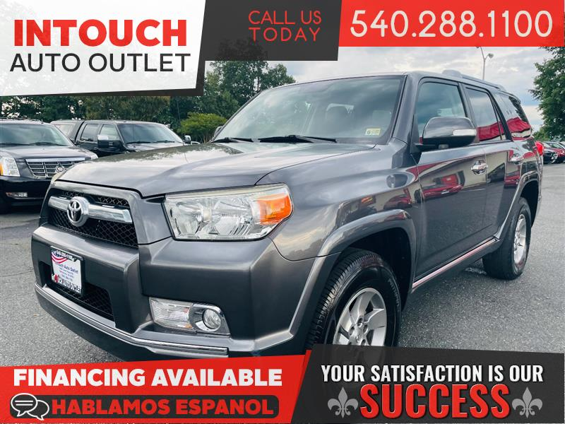 2010 TOYOTA 4RUNNER SR5 4WD WITH CONVENIENCE PACKAGE