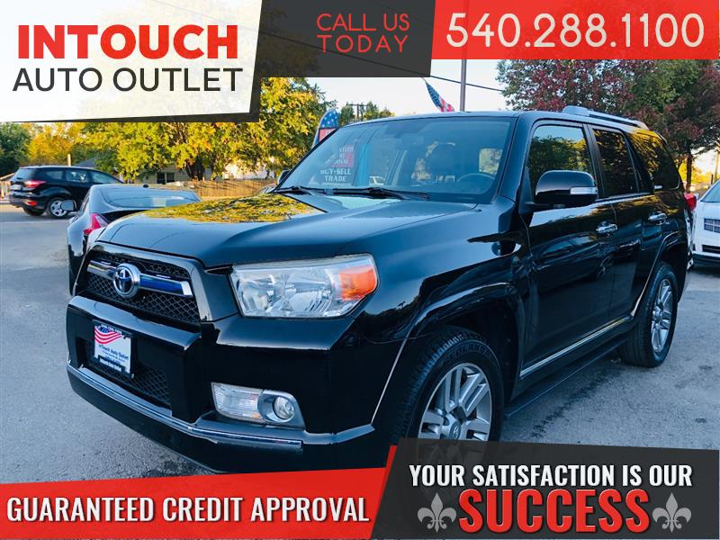 2012 TOYOTA 4RUNNER LIMITED 4WD WITH 3RD ROW AND NAVIGATION SYSTEM