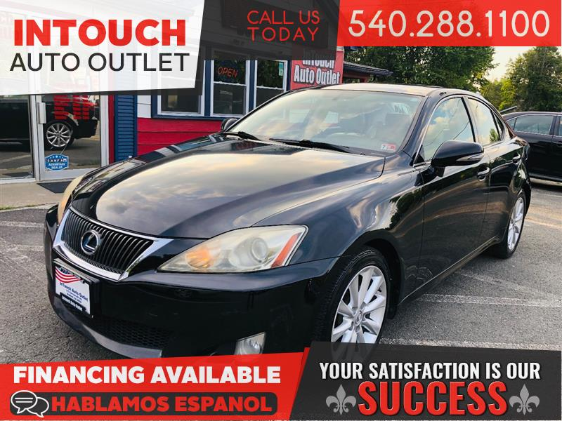 2010 LEXUS IS 250 6 SPEED MANUAL WITH PREMIUM PACKAGE