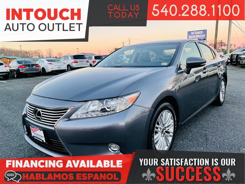 2014 LEXUS ES 350 NAVIGATION AND SUNROOF