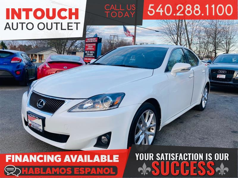 2013 LEXUS IS 250 AWD WITH LUXURY AND PREMIUM PACKAGE NAV