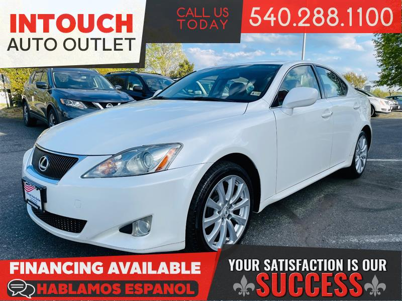 2008 LEXUS IS 250 AWD WITH PREMIUM AND PREFERRED ACCESSORY PACKAGE