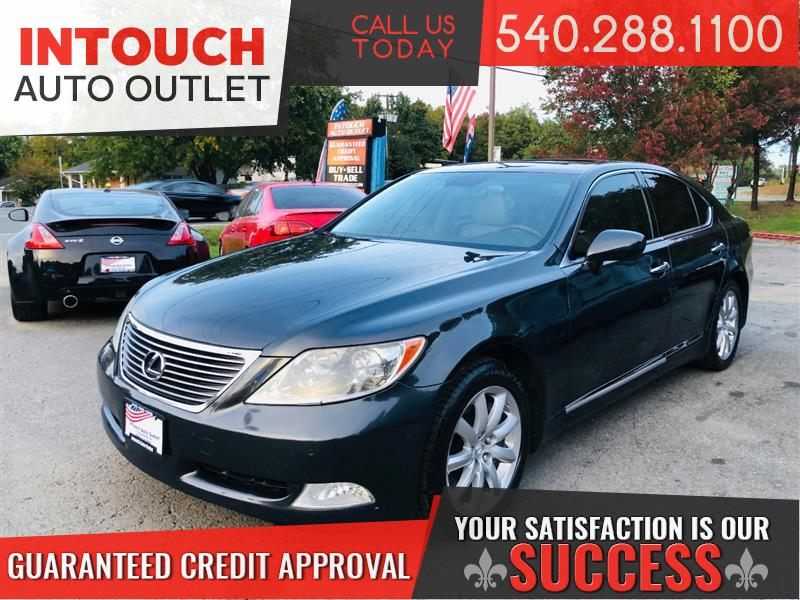 2009 LEXUS LS 460 AWD SEDAN WITH NAVIGATION