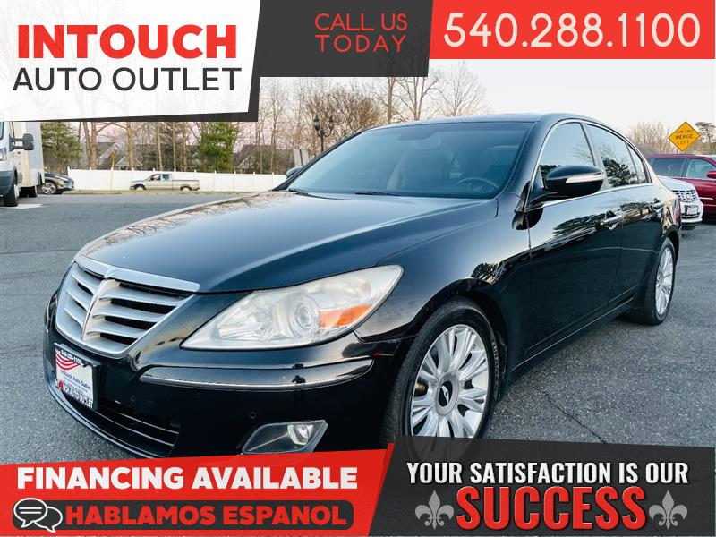 2009 HYUNDAI GENESIS WITH TECHNOLOGY PACKAGE & SUNROOF