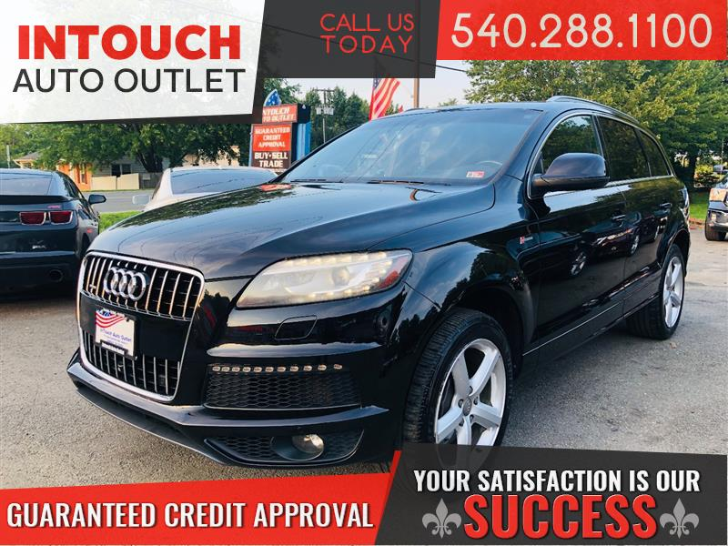 2013 AUDI Q7 3.0 S-LINE PRESTIGE QUATTRO WITH TECHNOLOGY PACKAGE