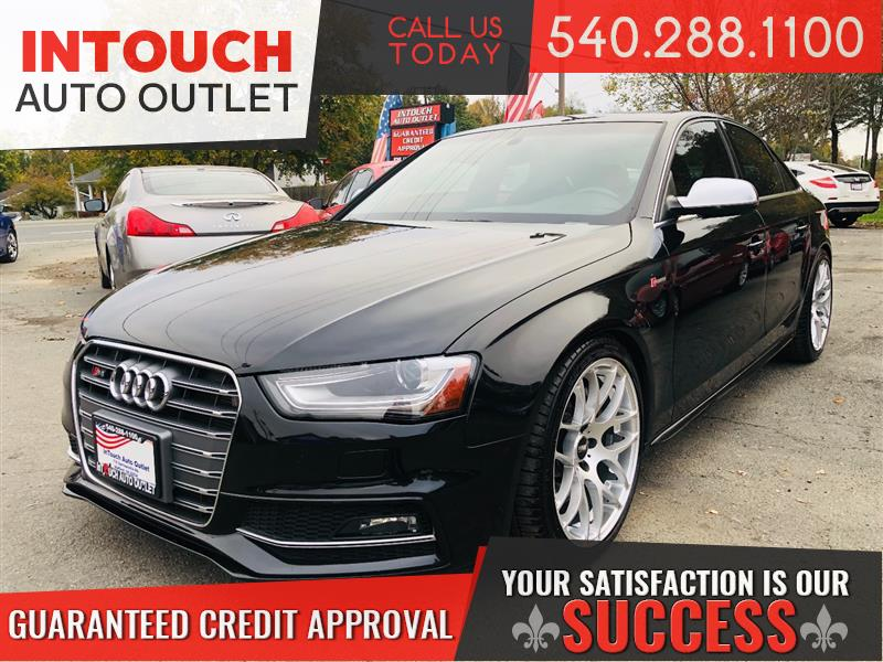 2013 AUDI S4 QUATTRO PREMIUM PLUS WITH NAVIGATION