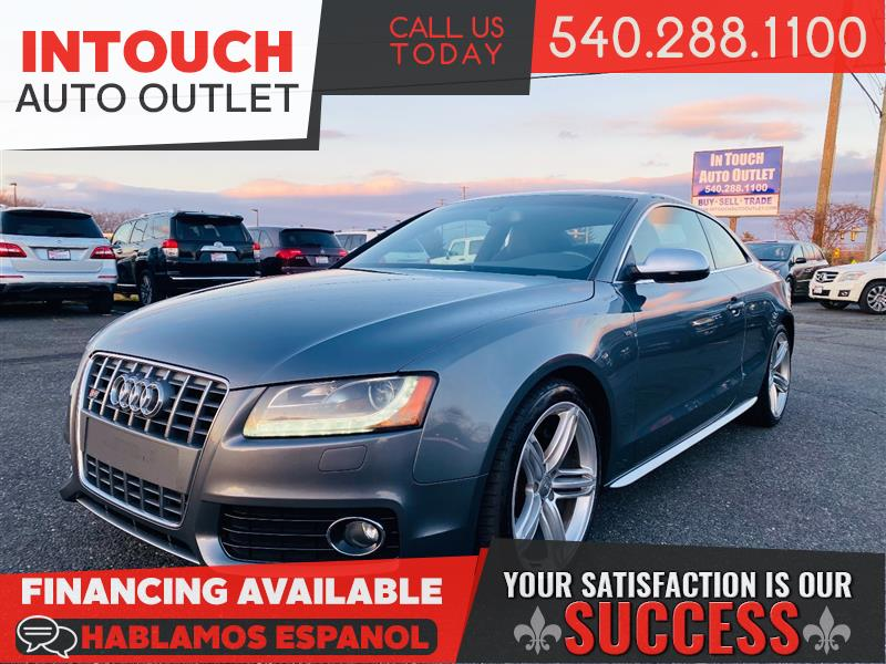 2012 AUDI S5 V8 PREMIUM PLUS QUATTRO WITH NAVIGATION