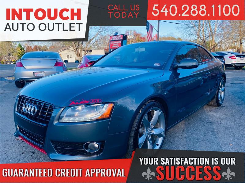 2010 AUDI A5 PREMIUM PLUS AWD APR STAGE 2 DYNO TUNED 6 SPEED MANUAL